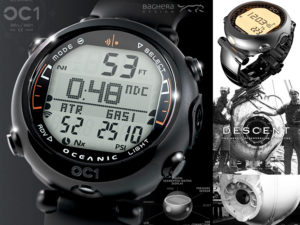 OC1 digital dive watch