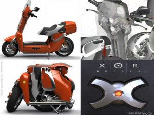XO2 Electric foldable scooter / XOR MOTORS
