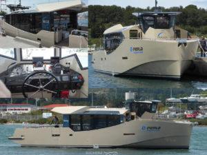 E-PERLA Hybrid passengers boat